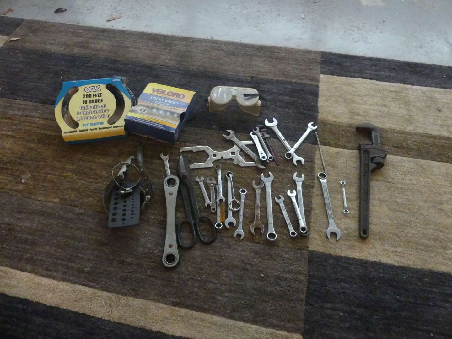 Lot #201 Lot of Hand Tools and Stuff