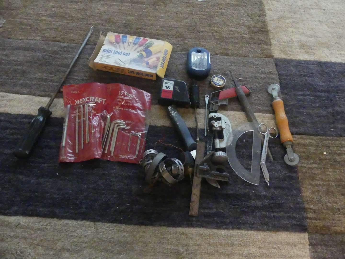Lot #202 Lot of Hand Tools