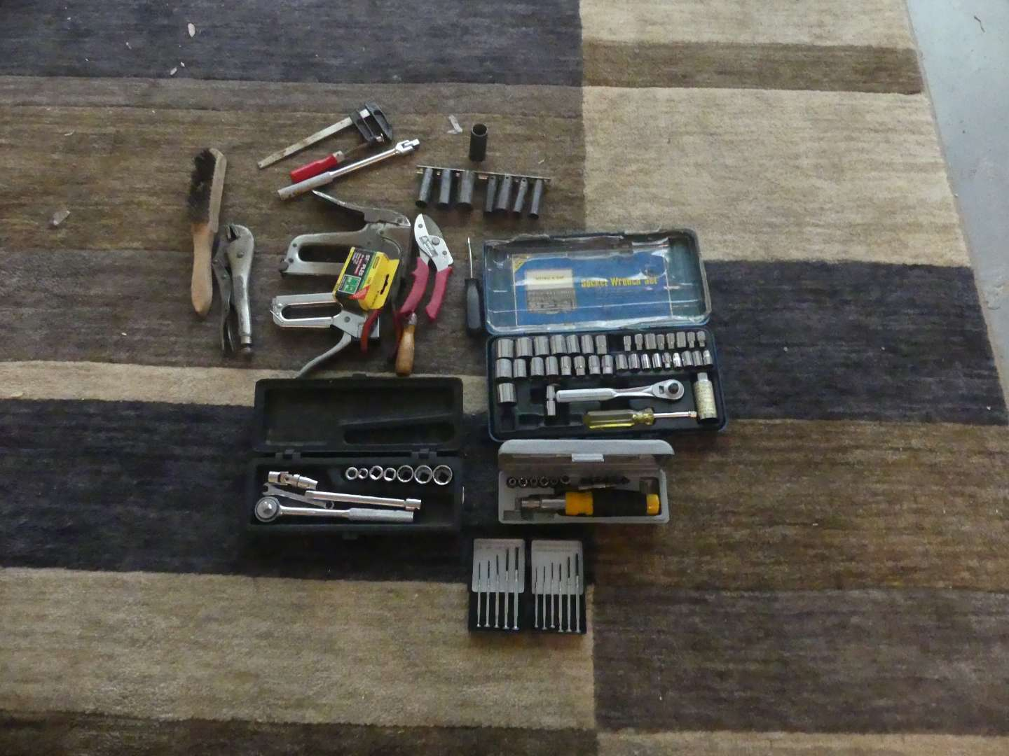 Lot #203 Lot of Hand Tools