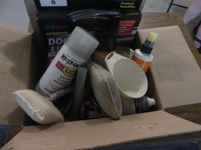Lot #204 Misc. Garage Items