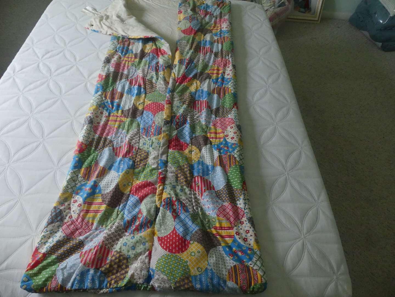 "Lot #216 Original Cozee Patchwork Quilt Pattern ""Sleeping Bag""/Snugglee"