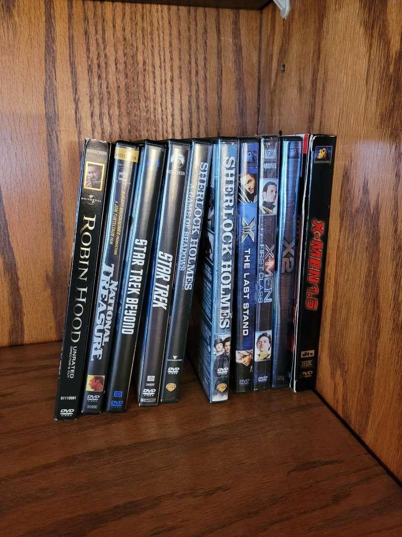 Lot # 1 (10) DVDs