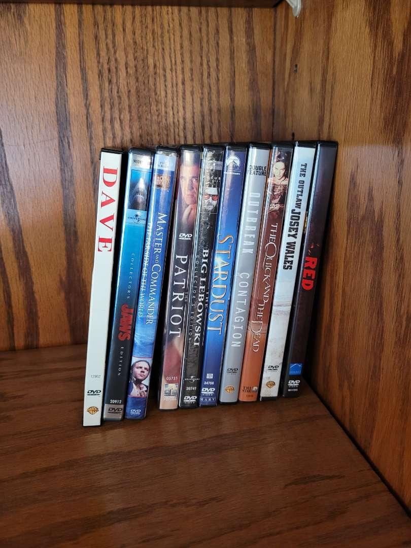 Lot # 3 (10) DVDs