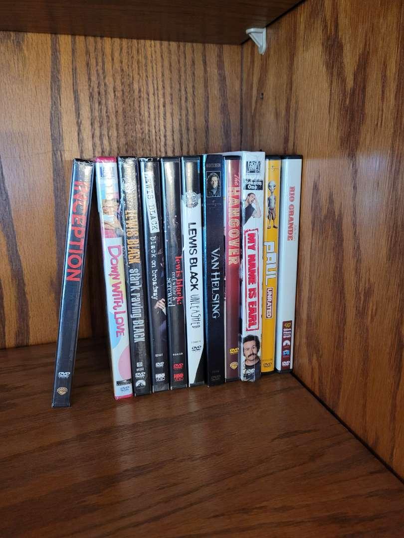 Lot # 4 (10) DVDs