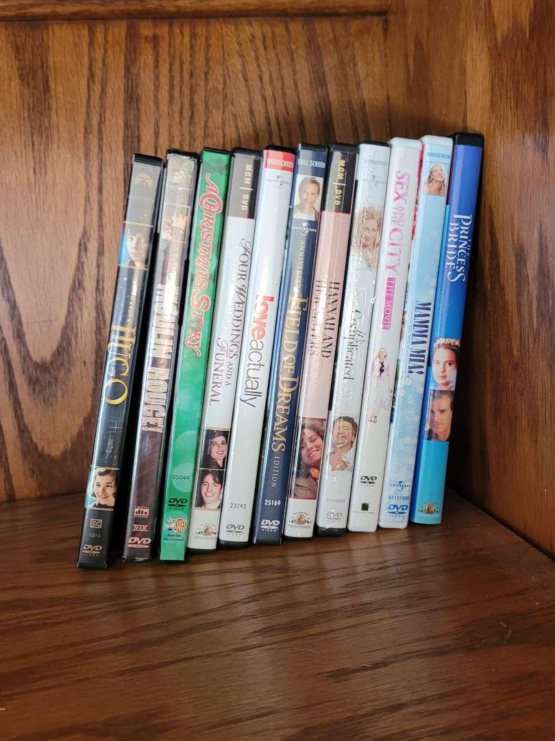 Lot # 5 (10) DVDs