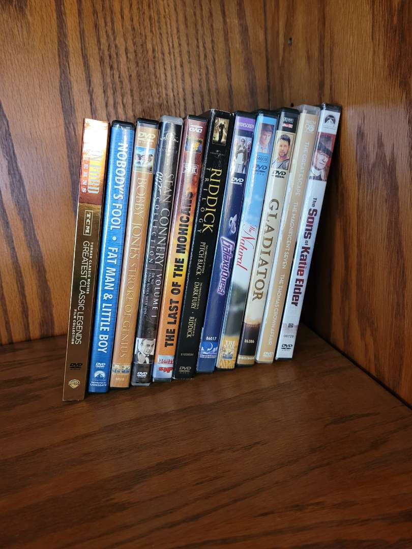 Lot # 6 (10) DVDs