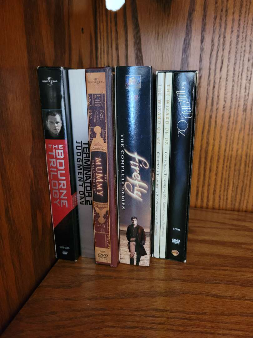 Lot # 7 (4) Sets of Series of DVDs