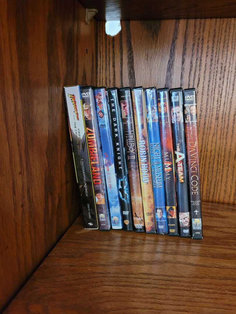 Lot # 8 (10) DVDs