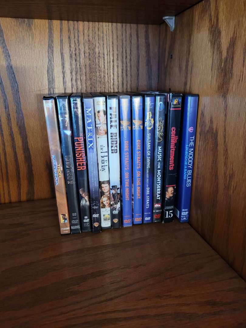 Lot # 9 (10) DVDs