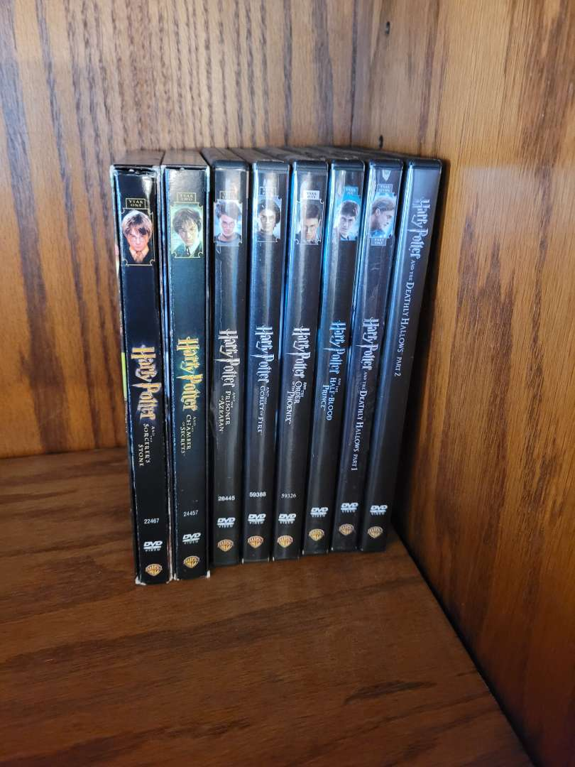 Lot # 10 Complete Harry Potter DVD Collection