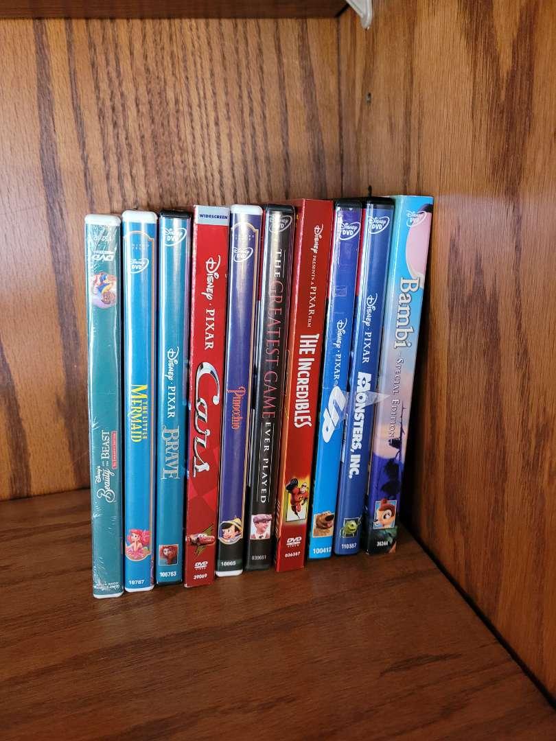 Lot # 12 (10) Disney DVDs