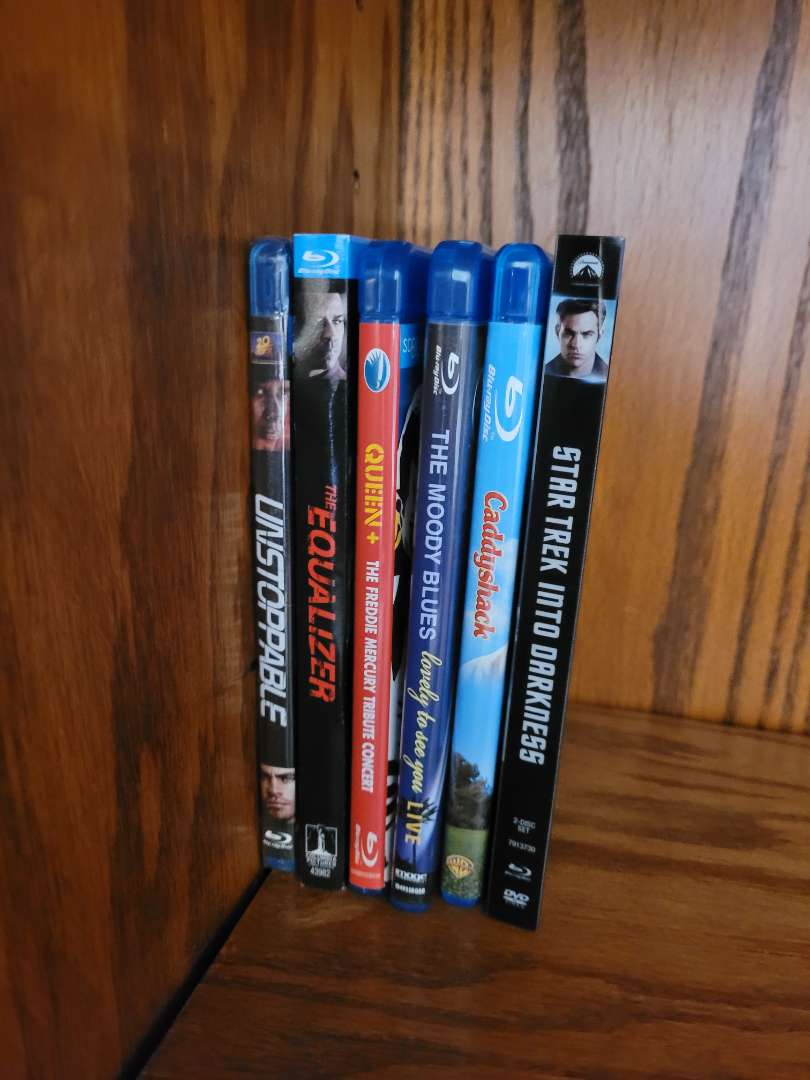 Lot # 13 (6) Blu Ray