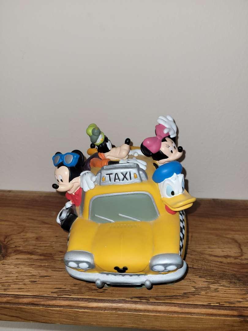 Lot # 17 Disney Taxi Car Bank
