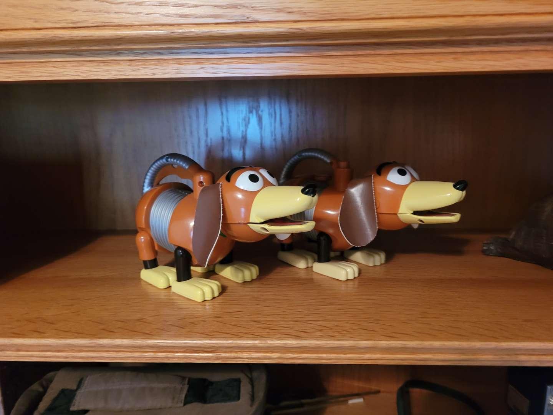 Lot # 19 Slinky Dog Flashlight & Toy