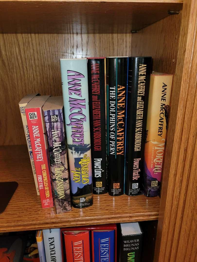 Lot # 27 (8) Ann McCaffrey Books