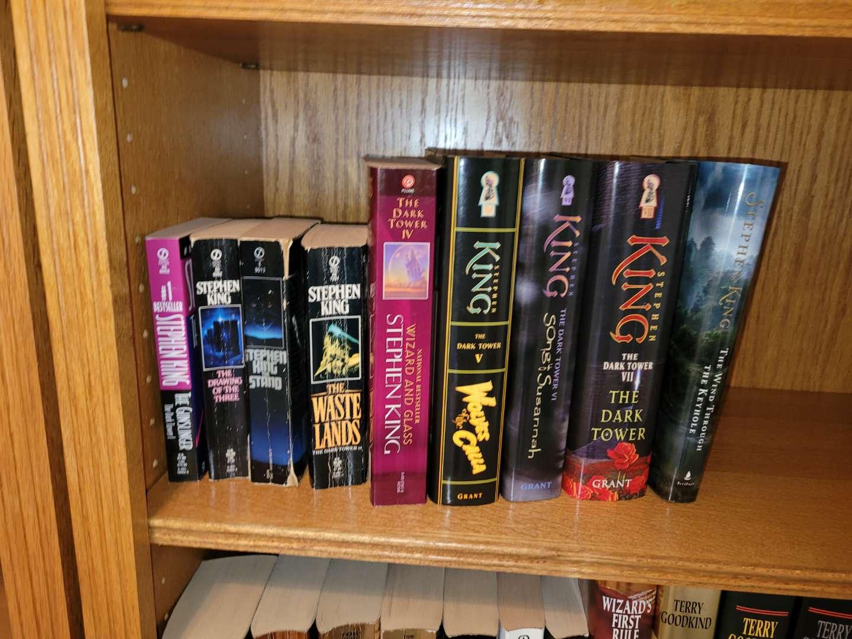 Lot # 32 (9) Steven King Books