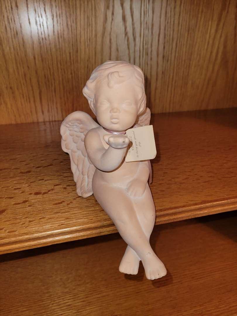 Lot # 38 Sparkleberry Fairy Shelf Hanger - Signed