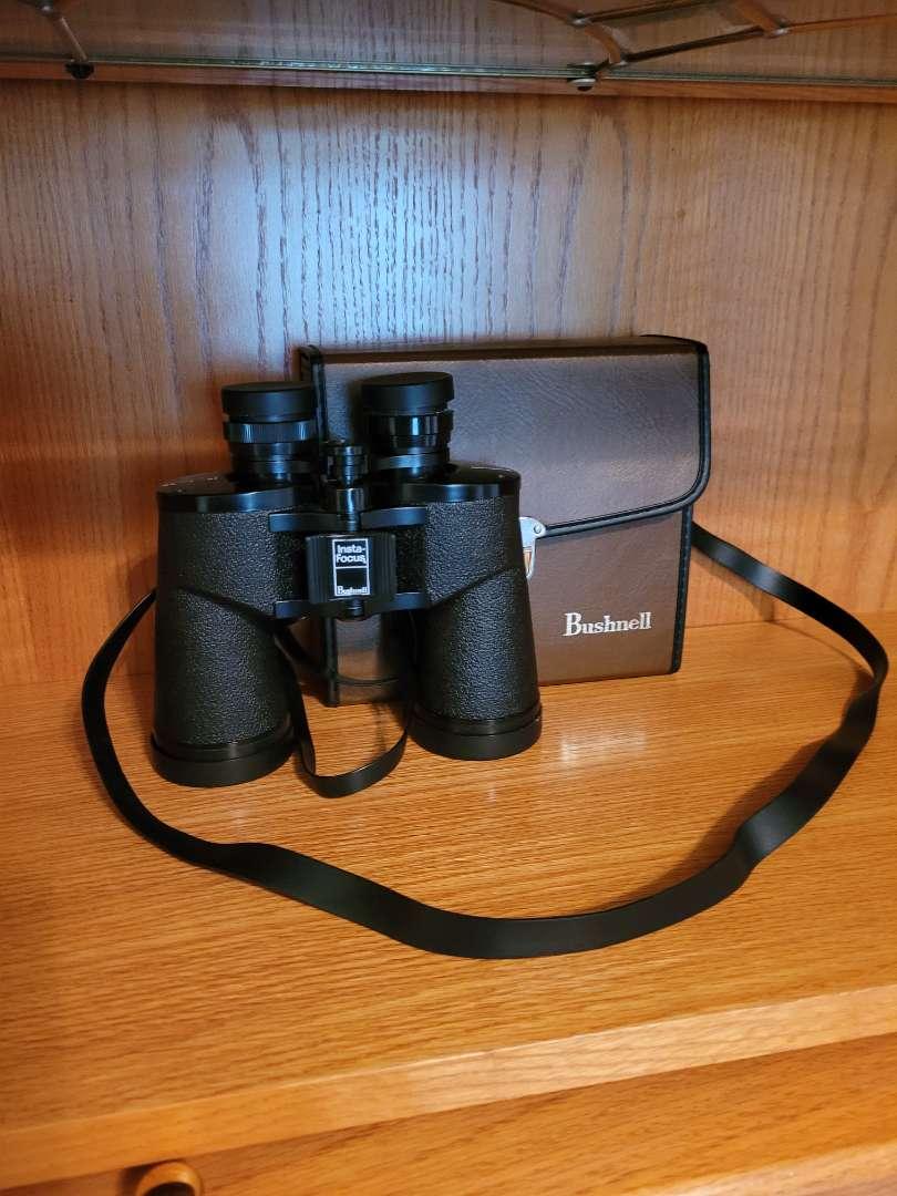 Lot # 47 Bushnell Sportview 10x50 Binoculars w/ Case