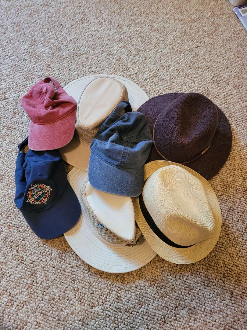 Lot # 49 (7) Assorted Hats