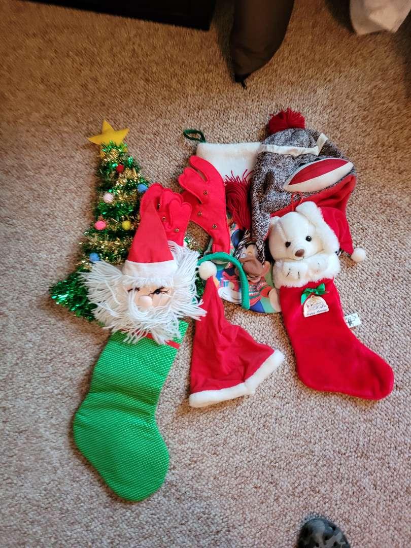 Lot # 54 Christmas Stockings & Hats