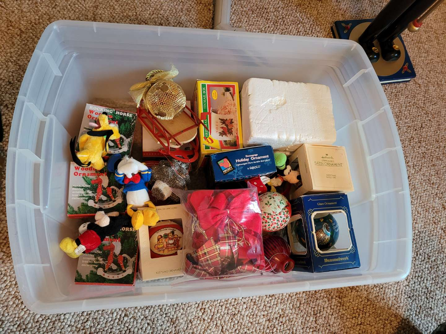 Lot # 66 Assorted Christmas Ornaments - See pics