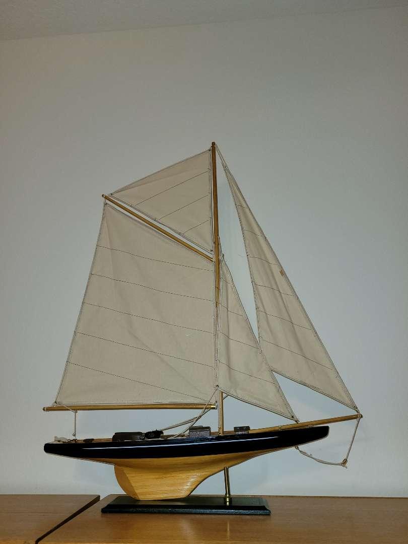 "Lot # 79 32""  Replica of Sailing Ship"