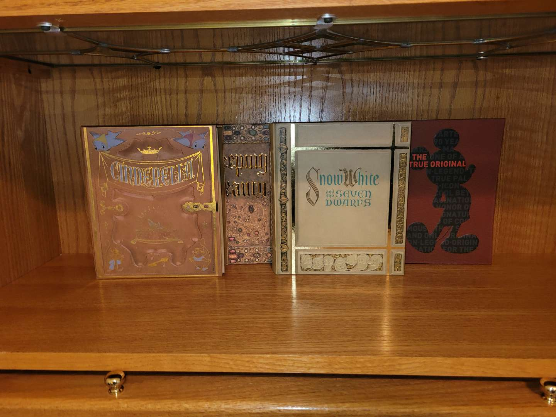Lot # 80 (4) Disney Secret Storage Books