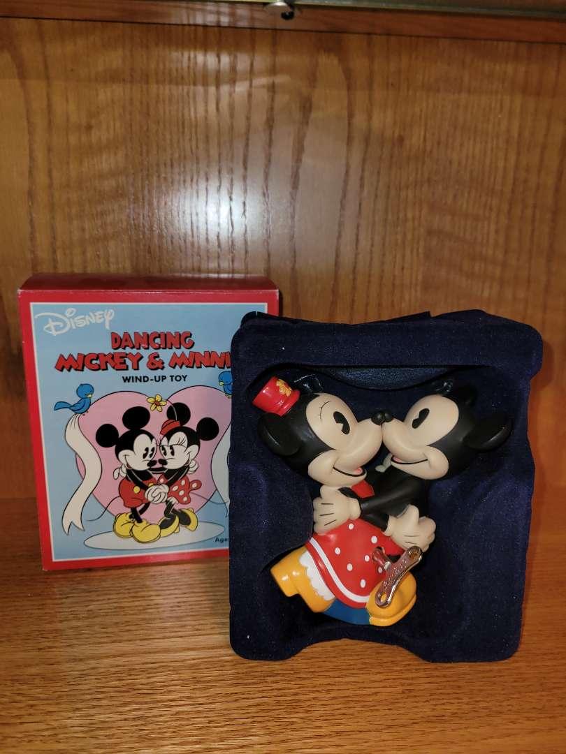Lot # 81 Mickey & Minnie Wind Up Toy - NIB