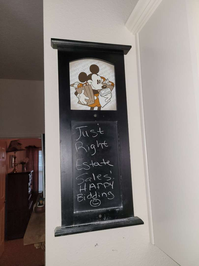 Lot # 89 Mickey Mouse Chalk Board