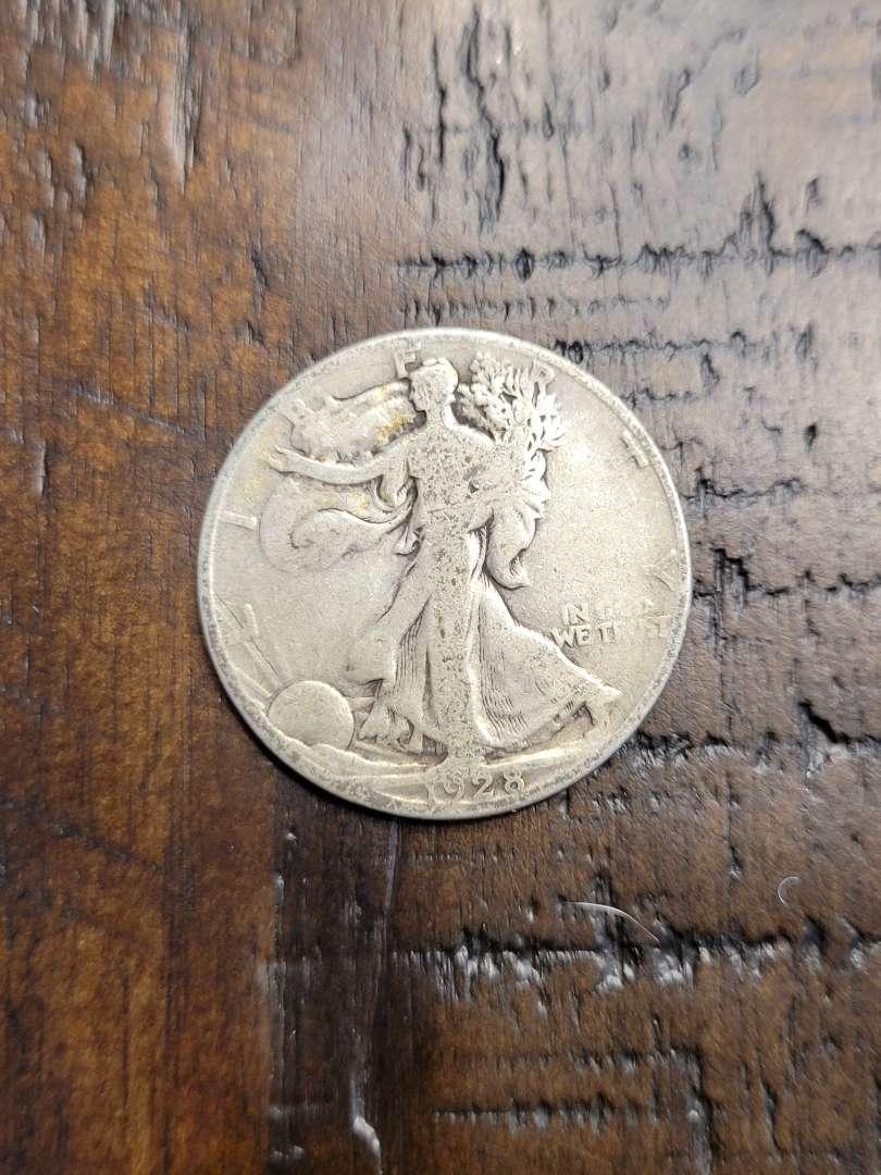 Lot # 90 1928-S Walking Liberty Half Dollar- 90% US Silver