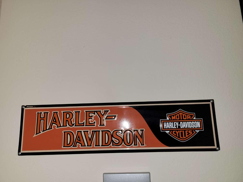 Lot # 114 Metal Harley-Davidson Sign