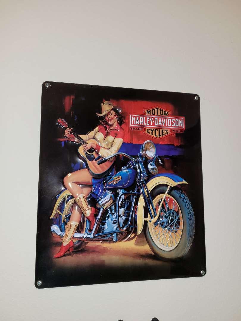 Lot # 115 Metal Harley-Davidson Sign