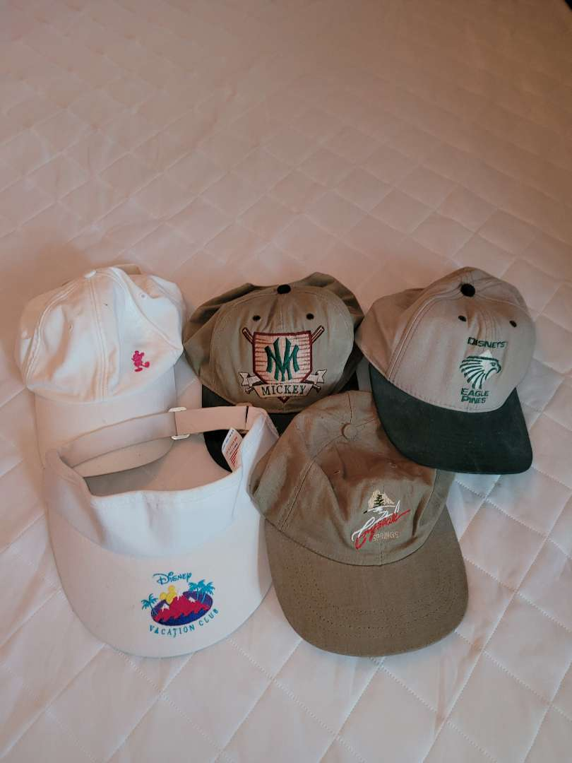 Lot # 130 Collection of Disney Hats