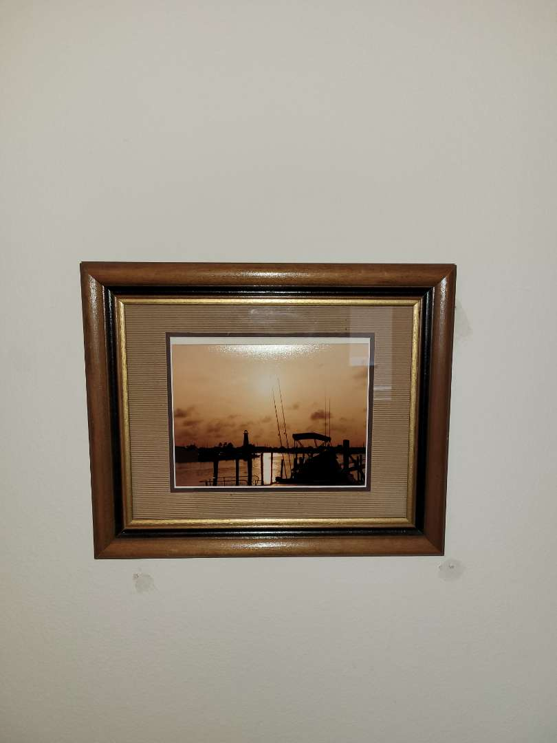 Lot # 132 Beautiful Framed Picture of Sunset
