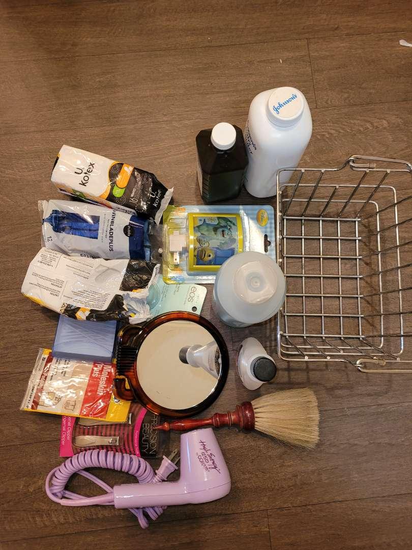 Lot # 144 Hair Dryer, Peroxide, Shampoo, Nightlight & More