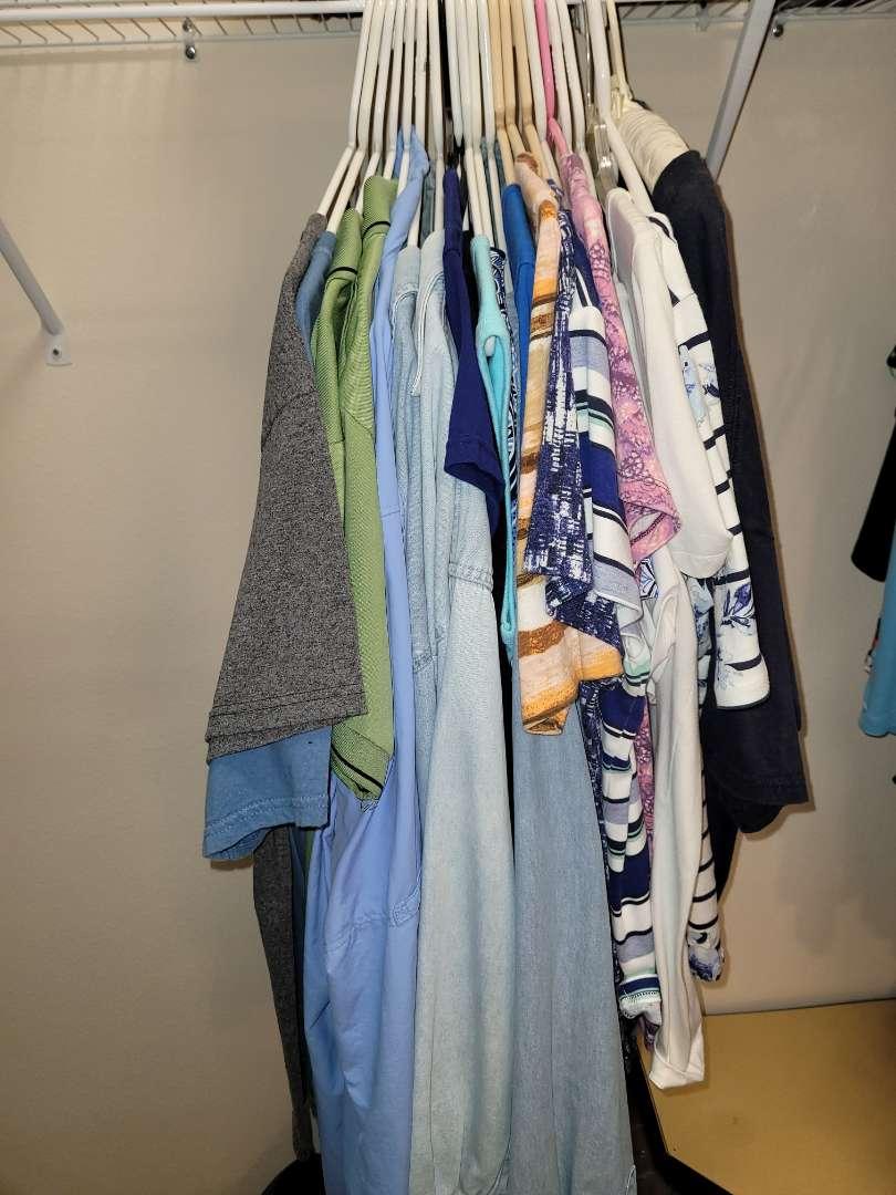 Lot # 151 (20) Ladies Shirts - Size L-Xl
