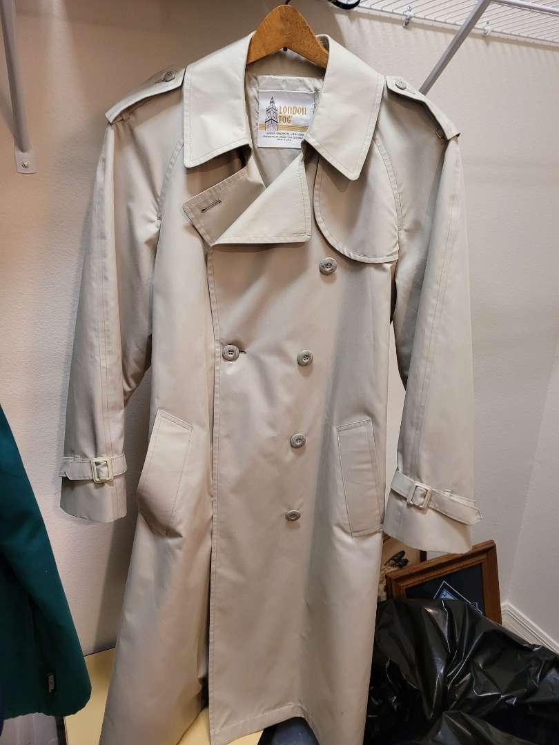 Lot # 156 London Fog Rain Coat
