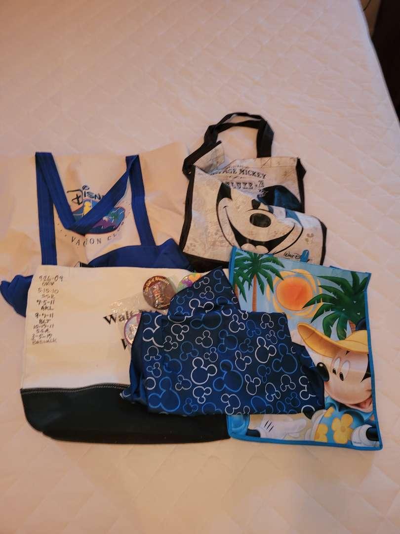 Lot # 171 Reusable Disney Bags
