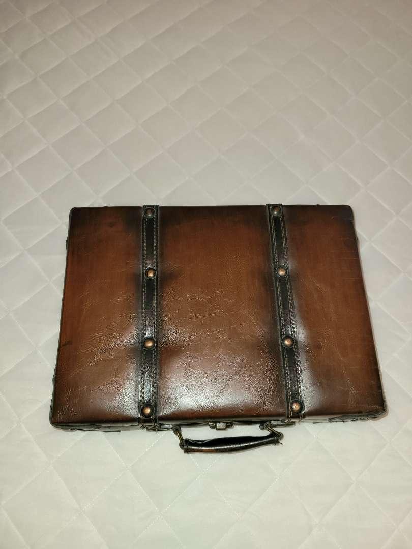 Lot # 172 Beautiful Briefcase Storage Box