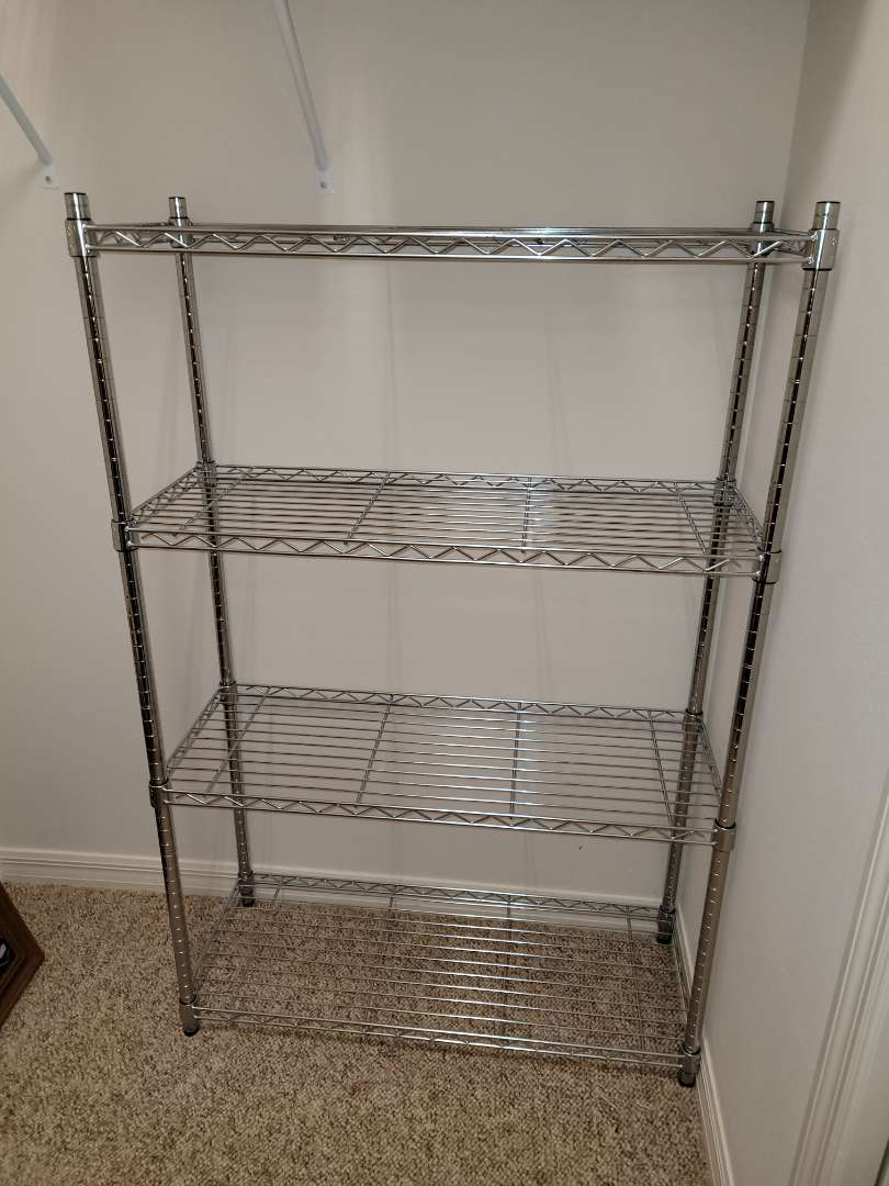 Lot # 176 Metal Storage Shelf
