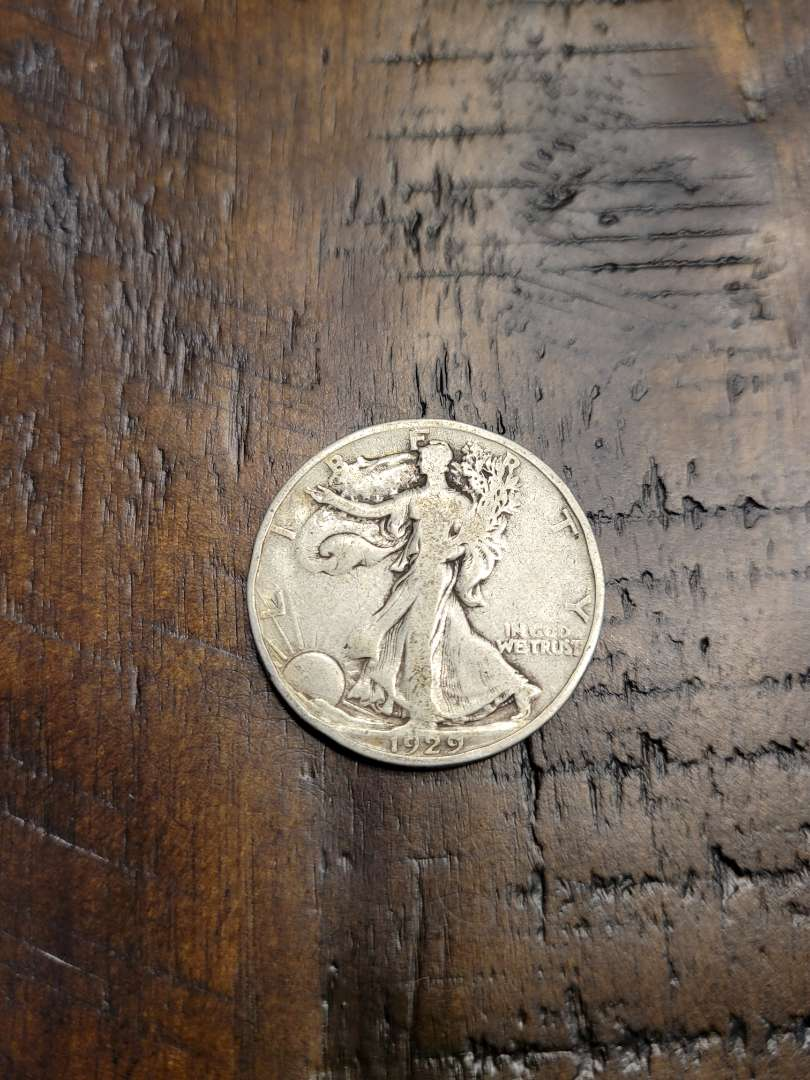 Lot # 191 1936 Walking Liberty Silver Half Dollar-90% US Silver