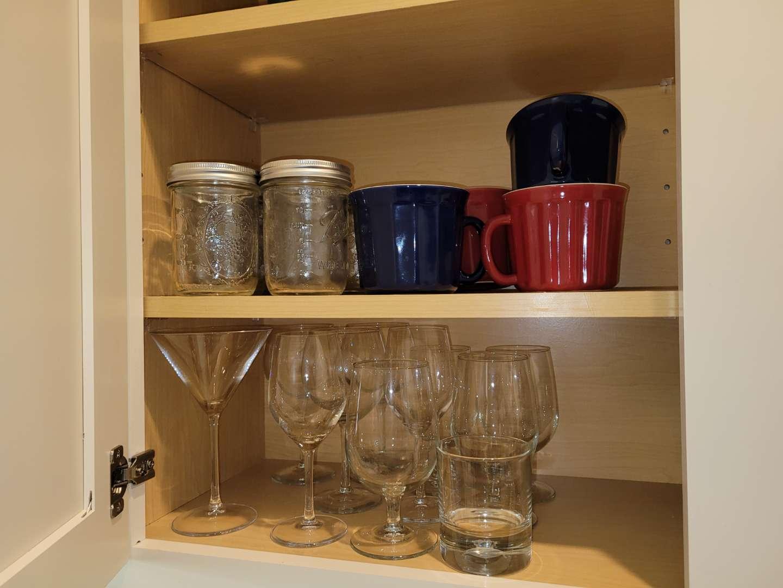 Lot # 217 Assorted Glasses