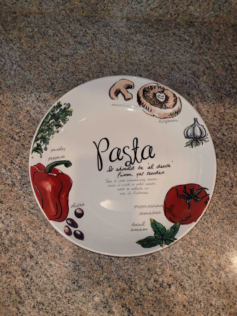 Lot # 226 Pasta Serving Bowl
