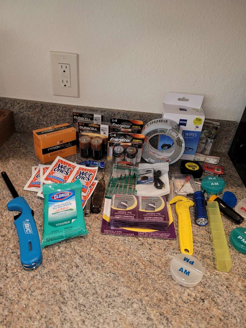 Lot # 251 Batteries, Wipes & More
