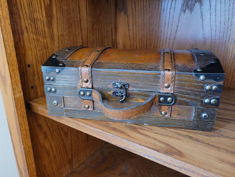 Lot # 276 Beautiful Treasure Chest Storage Box