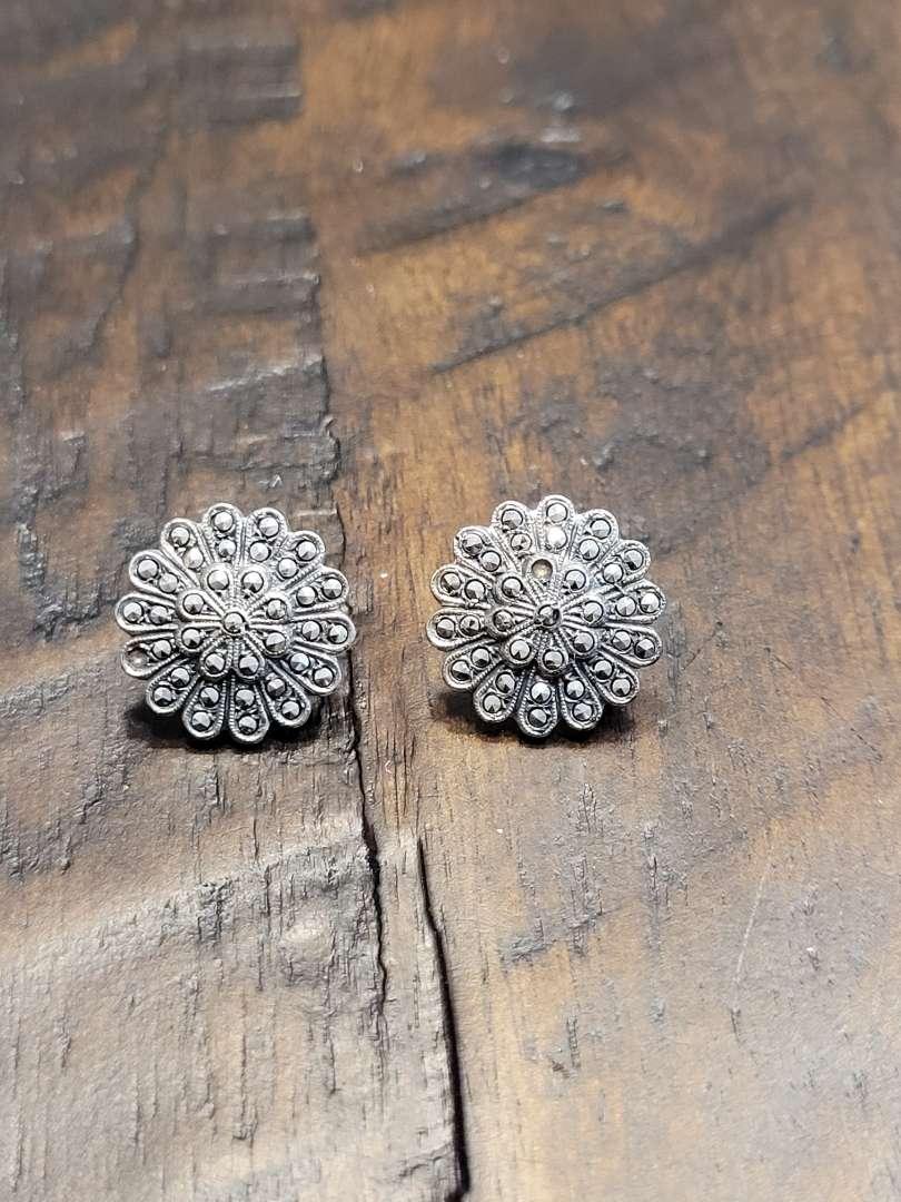 Lot # 292 Sterling Silver Earrings