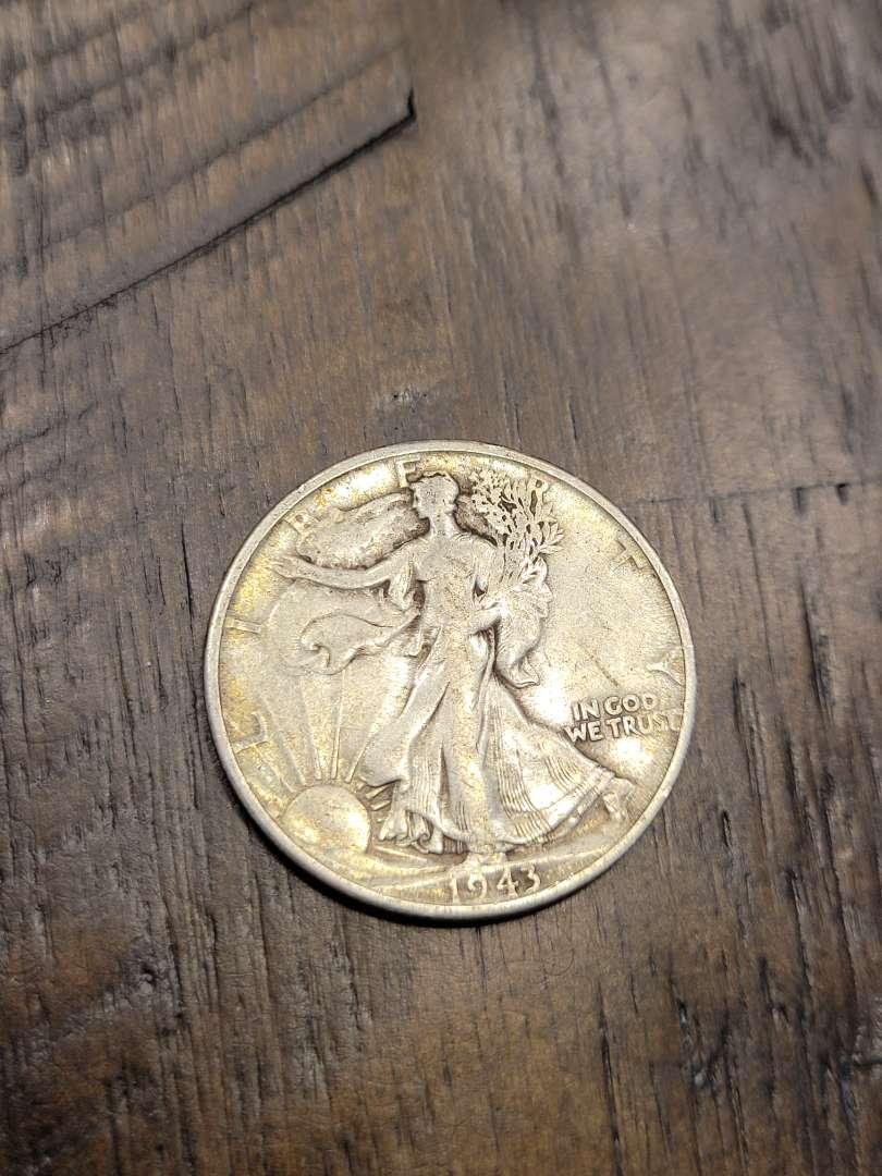 Lot # 295 1943-S Walking Liberty Silver Half Dollar-90% US Silver