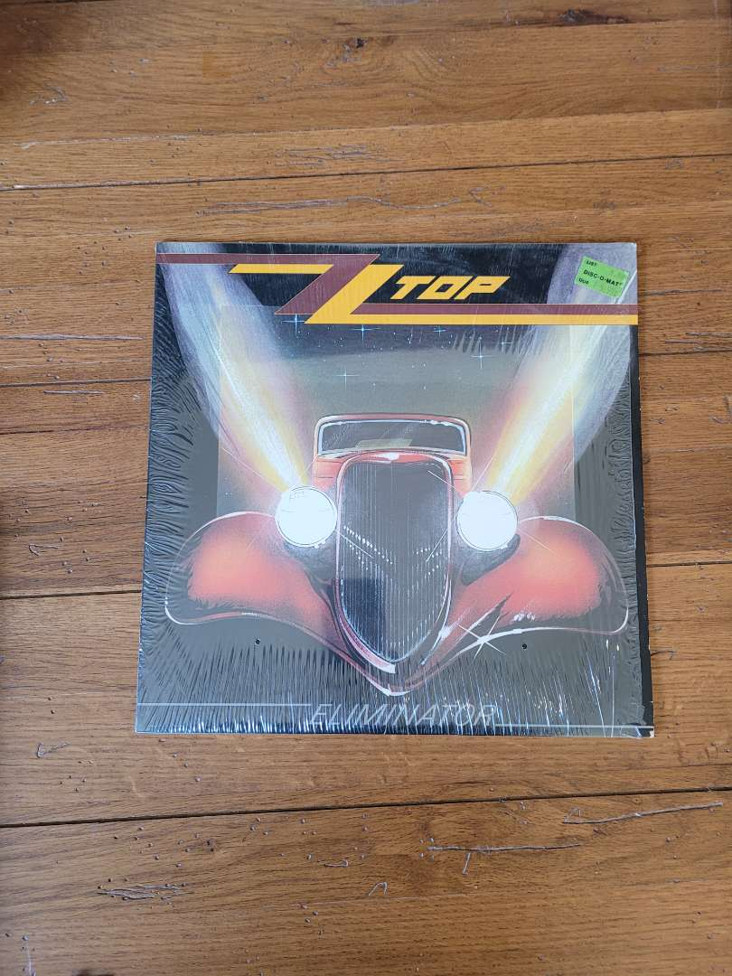 Lot # 304 1983 ZZ TOP Eliminater Album
