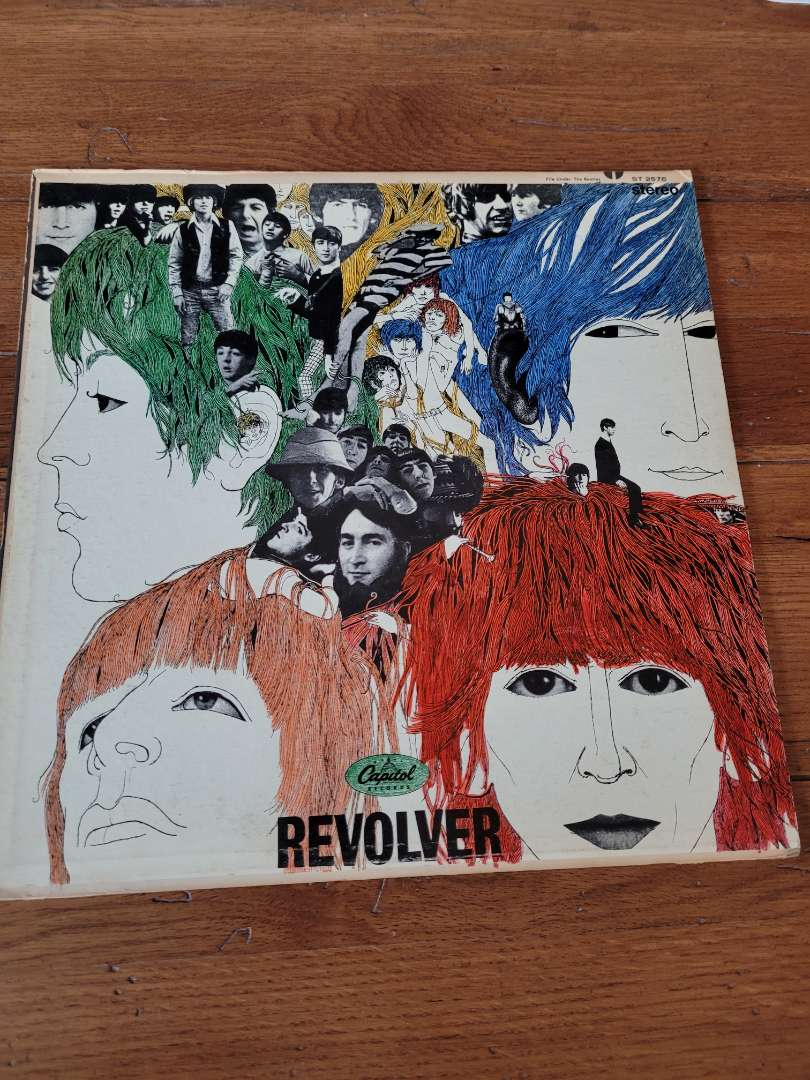 Lot # 307 The Beatles Revolver Album