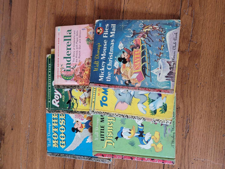 Lot # 311 Original Little Golden Books from the 1950-1960s